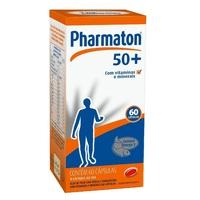 Pharmaton 50+ caixa com 60 cápsulas