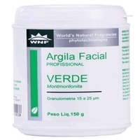 Argila Facial Profissional Verde WNF 150g