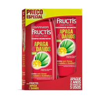 Kit Garnier Fructis Apaga Danos Shampoo + Condionador