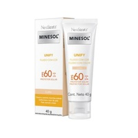 Protetor Solar Facial RoC Minesol Unify Fluido clara, FPS 60, 40g