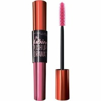 Máscara de Cílios Maybelline The Falsies Push Up Drama lavável, preto