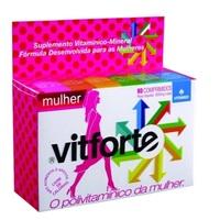 Vitforte Mulher caixa com 60 comprimidos