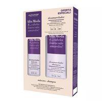 Kit Alfaparf Desamarelador shampoo, 300mL + condicionador, 300mL