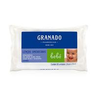 Lenço Umedecido Granado Bebê lavanda com 50 unidades