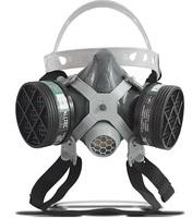 Respirador 1/4 Facial Alltec Mastt 2002 Pesticida duas vias, tamanho único