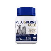 Pelo e Derme Gold frasco com 30 comprimidos