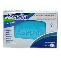 Sabonete Asepxia esfoliante, barra com 90g