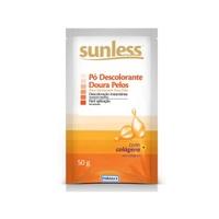 Pó Descolorante Sunless Doura Pelos 50g
