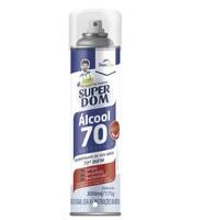 Álcool para Higienização Dom Line Super Dom 70%, aerossol com 300mL