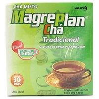 Chá Magreplan 30 Dias Tradicional, 60 Sachês