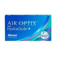 Lente de Contato Air Optix Plus HydraGlyde para Miopia grau -8.00, 3 pares
