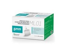 Agulha para Caneta de Insulina Medlevensohn ML01 - 31G, 5mm com 100 unidades