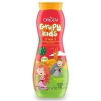 Shampoo 2 em 1 Origem Grupy Kids Adeus Frizz 500mL