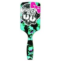 Escova de Cabelo Ricca Monster High Skullette, raquete, sortido