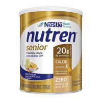 Suplemento Alimentar Nutren Senior sem sabor, lata, 1 unidade com 370g