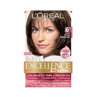 Tintura L'Oréal Imédia Excellence Creme nº 6.1 louro escuro acinzentado