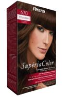 Tonalizante Amend Supéria Color n° 670 chocolate