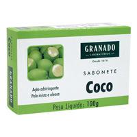 Sabonete Granado Tratamento coco, barra, 1 unidade com 100g