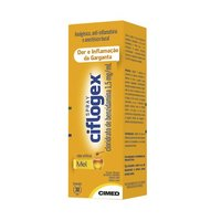 Ciflogex Colutório Spray 1,5mg/mL, caixa com 1 frasco spray com 30mL de colutório, mel