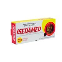 Sedamed 30mg + 300mg + 30mg, caixa com 20 comprimidos revestidos