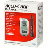 Kit Roche Accu-Chek Perfoma monitor, 1 unidade + lancetador, 1 unidade + tiras teste, 10 unidades + lanceta, 6 unidades