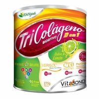 Tri Colágeno Bioativo Katiguá Frasco com 275g de pó para solução de uso oral, limão