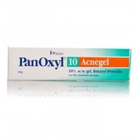 Panoxyl 100mg/g, caixa com 1 bisnaga com 45g de gel de uso dermatológico