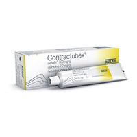 Contractubex 100mg/g + 10mg/g + 0,4mg/g, caixa com 1 bisnaga com 20g de gel de uso dermatológico