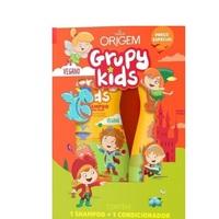 Kit Origem Grupy Kids Adeus Frizz shampoo, 500mL + condicionador, 500mL