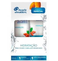 Kit Head & Shoulders Hidratação shampoo, 200mL + condicionador, 170mL