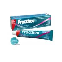 Proctheo 0,5% + 2% + 2% + 10%, caixa com 1 bisnaga com 20g de pomada de uso dermatológico + aplicador