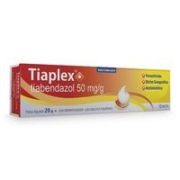 Tiaplex 50mg/g, caixa com 1 bisnaga com 20g de pomada de uso dermatológico