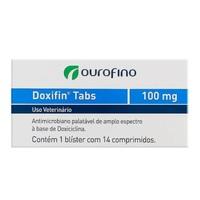 Doxifin 100mg, caixa com 14 comprimidos
