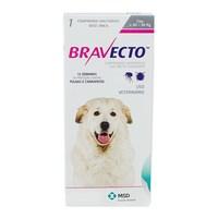 Antipulgas para Cães Bravecto 40Kg e 56Kg, 1400mg, caixa com 1 comprimido