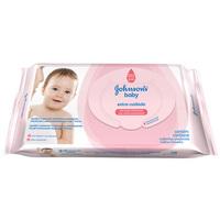 Lenços Umedecidos Johnson s Baby Extra Cuidado