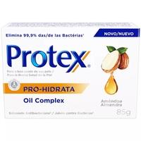 Sabonete Protex Pró-Hidrata Oil Complex amêndoa, barra, 85g