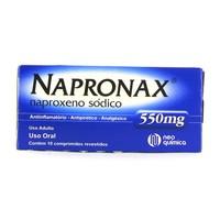 550mg, caixa com 10 comprimidos revestidos