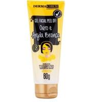 Gel Facial Peel Off Dermachem Ouro e Argila Branca 60g