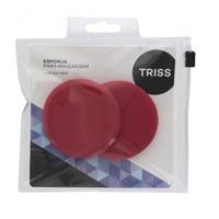 Esponja para Maquiagem Triss rosa, 2 unidades