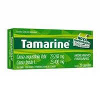 Tamarine 12mg, caixa com 20 cápsulas