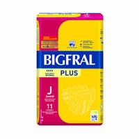 Fralda Bigfral Plus juvenil, 11 unidades