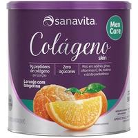 pote com 300g de pó para solução de uso oral, sabor laranja e tangerina