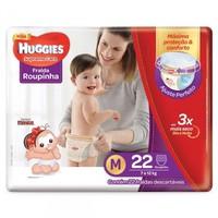 Fralda Roupinha Huggies Supreme Care M, 22 unidades