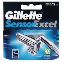 Carga Gillette Sensor Excel 2 unidades