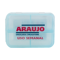 Porta Comprimidos Araujo - 1 unidade