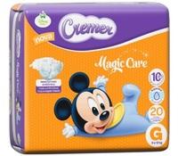 Fralda Cremer Magic Care G com 20 unidades