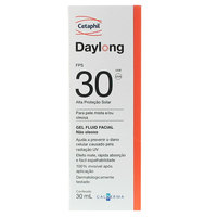 Cetaphil Daylong Gel Fluid Facial Galderma FPS 30 com 30ml