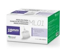 Agulha para Caneta de Insulina Medlevensohn ML01 - 29G, 10mm com 100 unidades
