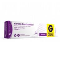 10mg/g, caixa com 1 bisnaga com 20g de creme de uso dermatológico