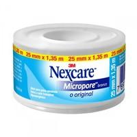 Esparadrapo Nexcare Micropore Branco, 25mm x 1,35m
